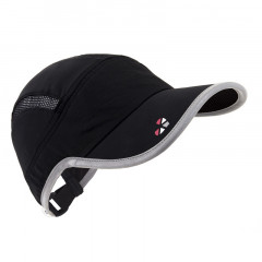 LifeBEAM Smart Hat with Integrated Heart Rate Monitor Black and Silver