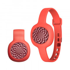 UP Move By Jawbone Activity Tracker Ruby Rose with Red Punch Slim Strap
