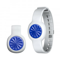 UP Move By Jawbone Activity Tracker Blue Burst with Fog Standard Strap