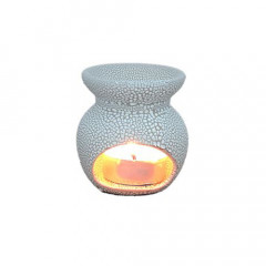 Crescent White Mini Aroma Candle Diffusers