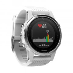 Garmin Fenix 5S GPS Watch White with Carrara White Band