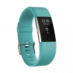 Fitbit Charge 2 Teal Silver Large