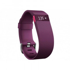 Fitbit Charge HR Fitness Tracker Plum Large