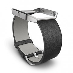 Fitbit Blaze Leather Black Accessory Band