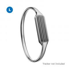 Fitbit Flex 2 Accessories Bangle Silver Large