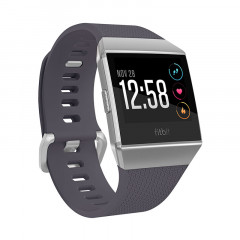 Fitbit Ionic Watch HR, GPS Blue and Silver Gray