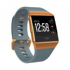 Fitbit Ionic Watch HR, GPS Slate Blue with Burnt Orange