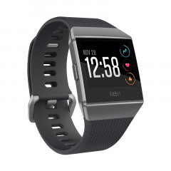 Fitbit Ionic Watch HR, GPS Charcoal Smoke Gray