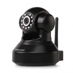 Foscam FC-FI9816PB Wireless IP Pan/Tilt HD Camera with Audio (Black)