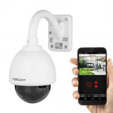 Foscam FI9828P Waterproof Wireless Dome IP Camera 1.3MP