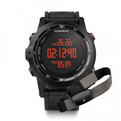 Garmin Fenix 2 Black Watch with Heart Rate Monitor