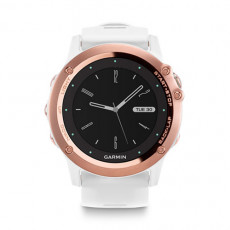 Garmin Fenix 3 Sapphire Rose Gold Tone With White Band