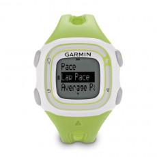 Garmin Forerunner 10 GPS Watch Green and White