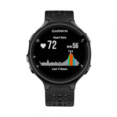 Garmin Forerunner 235 GPS Heart Rate Monitor Watch Black and Gray