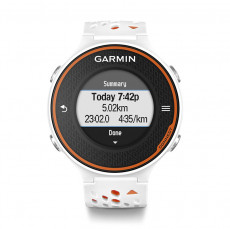 Garmin Forerunner 620 HRM GPS Watch (White and Orange)