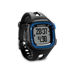 Garmin Forerunner 15 GPS Watch Black and Blue Bundle