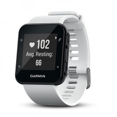 Garmin Forerunner 35 GPS Running Watch with HRM White