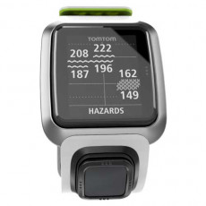 TomTom Golfer White and Bright Green Watch