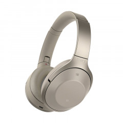 Sony MDR1000X Noise Cancelling Bluetooth Headphones Beige