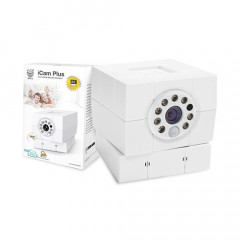 Amaryllo 360° Auto Tracking iCam Plus Camera White