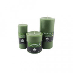 Inner Peace Pillar Aroma Beeswax Candles