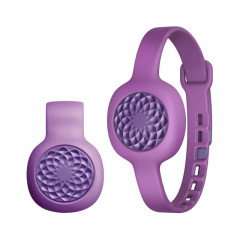 UP Move By Jawbone Activity Tracker Grape Rose with Purple Slim Strap