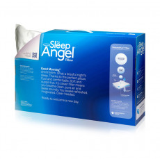 SleepAngel Microfiber Queen Size Specialty Medical Pillows