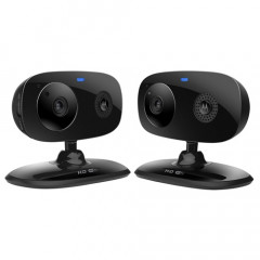 Motorola FOCUS66-BLK2 Wi-Fi HD Home Monitor Camera - 2 Pack (Black)