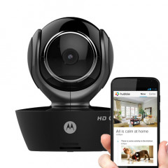 Motorola FOCUS85-B Wi-Fi HD Home Monitoring Camera with Remote Pan, Tilt and Zoom (Black)