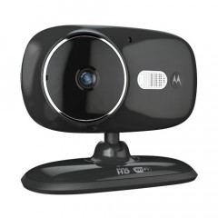 Motorola FOCUS86 Wi-Fi HD Home Video Camera with Digital Zoom (Black)