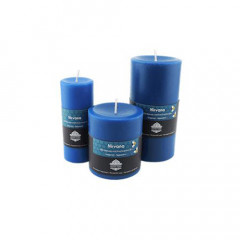 Nirvana Pillar Aroma Beeswax Candles
