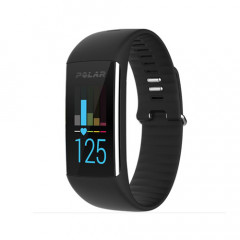 Polar A360 Fitness Tracker with Wrist-Based Heart Rate Black Medium