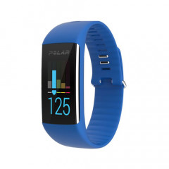 Polar A360 Fitness Tracker With Wrist-Based Heart Rate Blue Medium