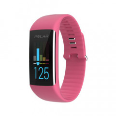 Polar A360 Fitness Tracker With Wrist-Based Heart Rate Pink Medium
