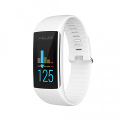 Polar A360 Fitness Tracker With Wrist-Based Heart Rate White Medium