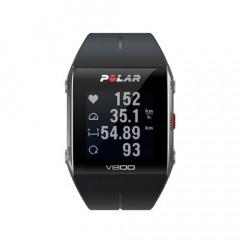 Polar V800 GPS Sports Triathlon Watch Black/Grey