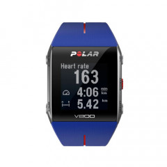 Polar V800 GPS Sports Triathlon Watch Blue/Red