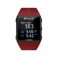Polar V800 GPS Sports Triathlon Watch Red