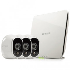 Arlo Netgear Security System with 3 HD Wireless Camera - VMS3330