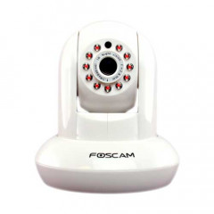 Foscam Wireless IP Pan/Tilt 1.3MP HD White Camera with Audio FC-FI9831PW