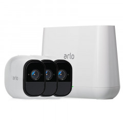 Netgear Arlo Pro 2 Smart Security System with 3 Cameras (VMS4330)