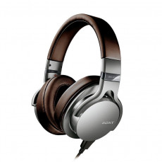 Sony MDR1ADAC Premium Hi-res Stereo Headphones Brown and Silver
