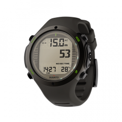 Suunto D6i Novo Stealth Watch With USB