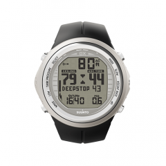 Suunto DX Silver Elastomer Watch With USB