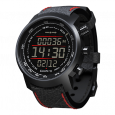 Suunto Elementum Terra n/ Black/ Red Leather Watch