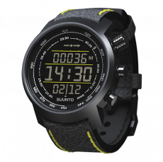 Suunto Elementum Terra n/ Black/ Yellow Leather Watch