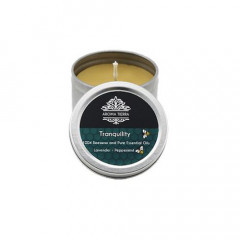 Tranquility Travel Tin Aroma Beeswax Candles