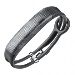 UP2 By Jawbone Gunmetal Hex Rope Activity Tracker