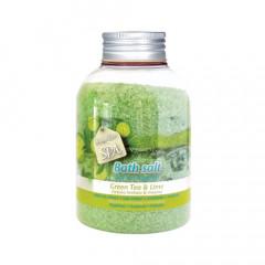 Verona SPA Green Tea and Lime Bath Salt 600g