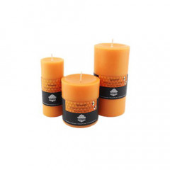 Warmth Pillar Aroma Beeswax Candles
